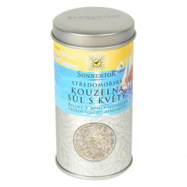 Stredomorská čarovná soľ s kvetmi