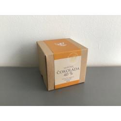 Čokoládové peniažky v krabičke –  mliečna čokoláda 40 %