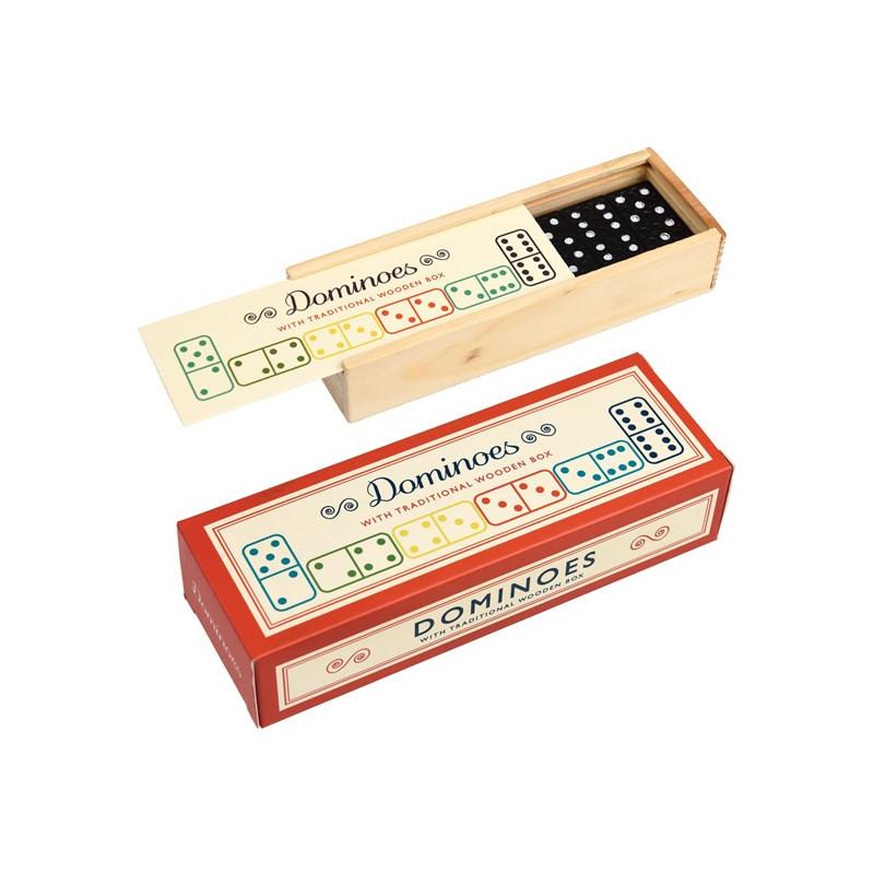 Klasické domino v drevenej krabičke