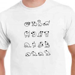 Tričko Psi