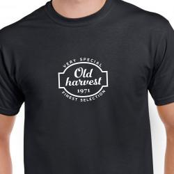 Narodeninové tričko Old Harvest 1971