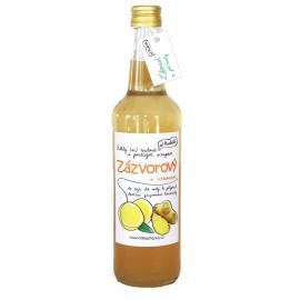 Domáci sirup - Zázvorový s citrónom
