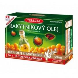 Rakytníkový olej v kapsulách (100%)