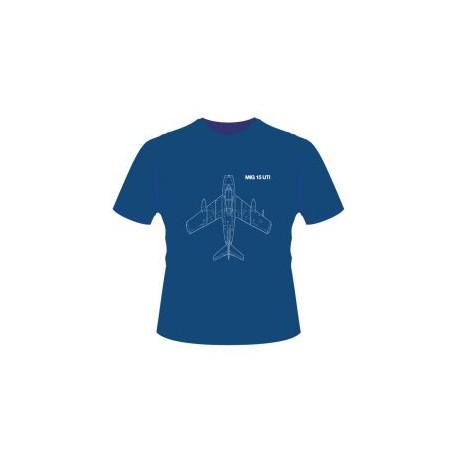 Originální tričko se siluetou legendární stíhačky MIG15