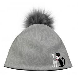 Mačacia čiapka Black & White