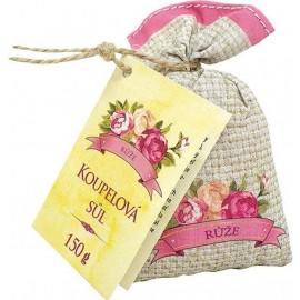 Kúpeľová soľ zo šípiek a kvetov ruže