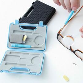 Set na čistenie a opravu okuliarov