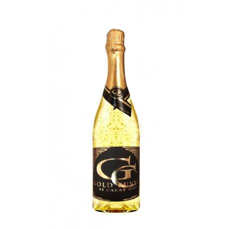 Šumivé víno se zlatem 0,75 l