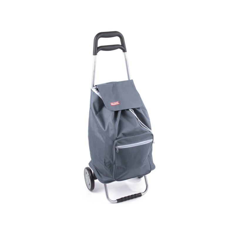 Praktická nákupná taška na kolieskach Cargo - sivá