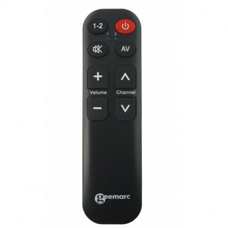 Televízny ovládač pre seniorov - jednoduché ovládanie