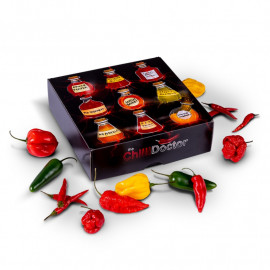 Darčeková  ochutnávková  súprava chilli Mash